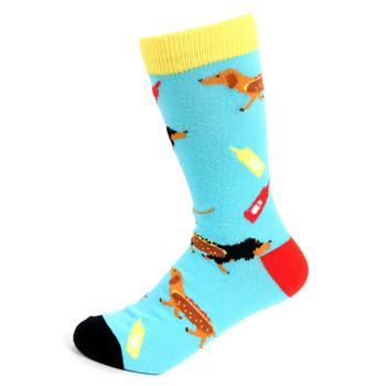 Women's Hotdog Novelty Socks - LNVS19506