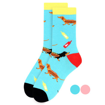 Women's Hotdog Novelty Socks - LNVS19506