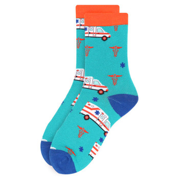 Women's Ambulance Novelty Socks - LNVS19527-TQ