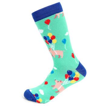 Women's Pig Novelty Socks - LNVS19545-TL