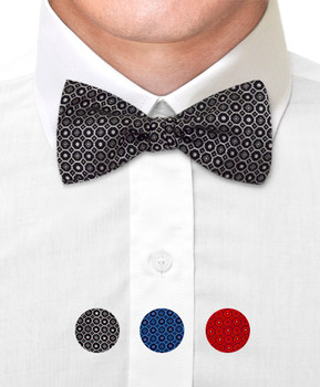 Silk Woven Freestyle Bow Tie FBS4700