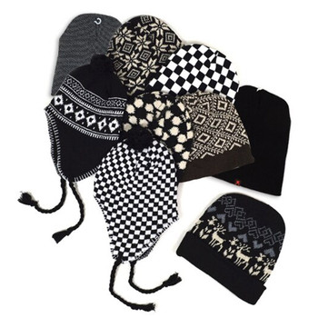 60pc Random Assorted Prepack Beanies & Ski Hats HAP60-3