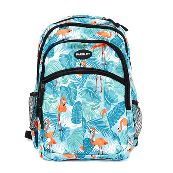 Flamingo Pattern Novelty Backpack-NVBP-36
