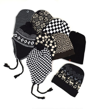 24pc Random Assorted Prepack Ski Hats HAP24