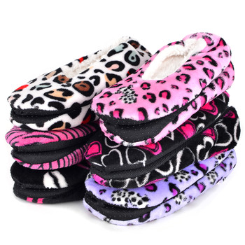 60 pairs Women's Assorted Warm & Cozy Indoor Non Slip Grip Slippers - WFWS-60ASST