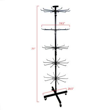 Winter Sherpa Socks Display Rack (90 Sherpa Socks Included) - ST-HTR1-WFLS