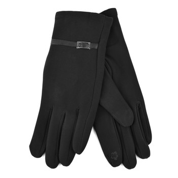 Women's Black Winter Gloves - LWG33