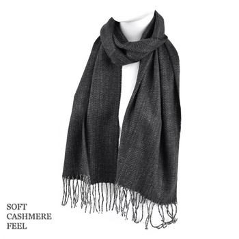 Unisex Acrylic Cashmere Feels Winter Scarves - AS1301-CHA2