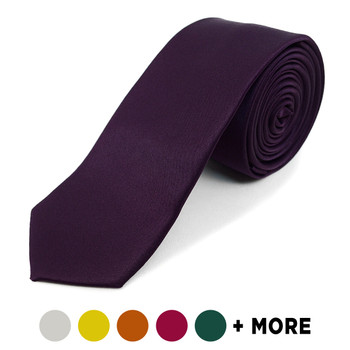 "Poly Solid 2"" Slim Tie PPS2501"