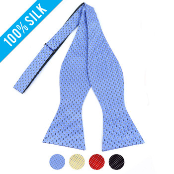 Silk Woven Freestyle Bow Tie FBS4702