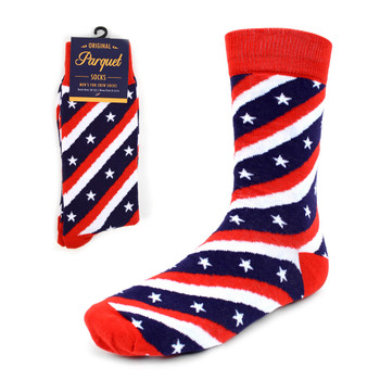 Men's American Flag Novelty Socks - NVS1818