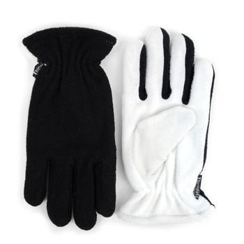 PrePack Women's Fleece Winter Black Gloves - ZM5-Pack