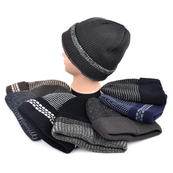 24pc Assorted Heavy Duty Winter Outdoor Beanie Hat - MKS-24ASST