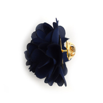 Solid Mini Bouquet Clutch Back Flower Lapel Pins- FLP1710