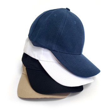 Assorted Solid Color Adjustable Baseball Cap