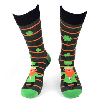 Men's Leprechaun Novelty Socks - NVS19555