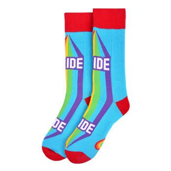 Men's PRIDE Novelty Socks - NVS19570-SKBL