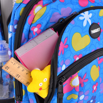 Flower & Heart Pattern Novelty Backpack - NVBP01