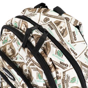 $100 Bill Pattern Novelty Backpack-NVBP-04