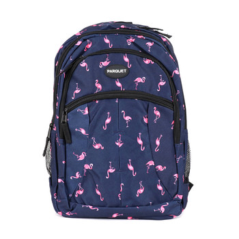 Flamingo Navy Novelty Backpack-NVBP-14