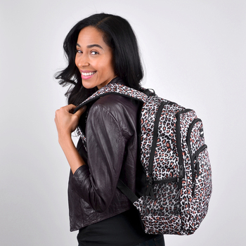 Cheetah Print Novelty Backpack-NVBP-40