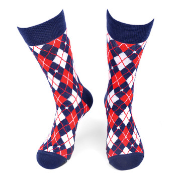 Men's Argyle Novelty Socks - NVS19565