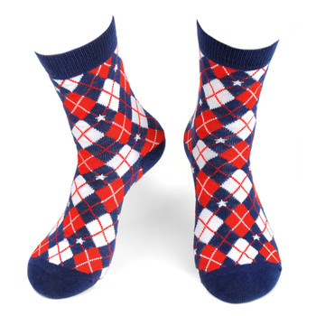 Women's Argyle Novelty Socks - LNVS19423