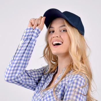 Assorted Color Solid  Adjustable Baseball Cap - CAP2-Case