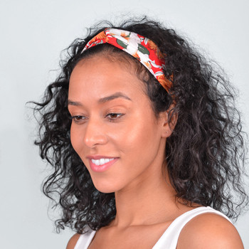 12pc Assorted Criss Cross Floral Headbands