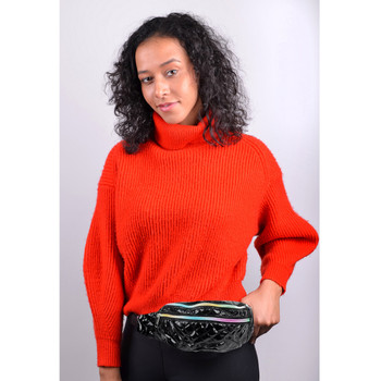 Quilted Black Metallic Waist Fanny Pack - LFBG1303-BK-1