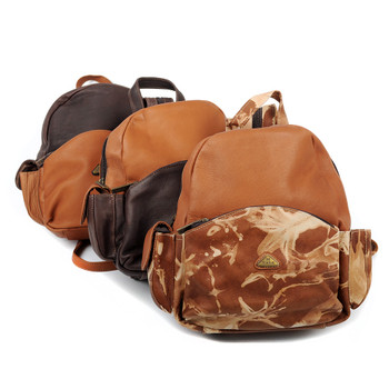 SALE Assorted Mixed Small Leather Backpacks - Slthback-12pcs