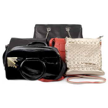 2pcs Assorted Mixed Ladies Handbags - Wbags-12pcs