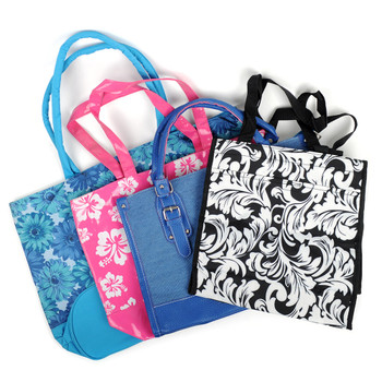 24pcs Assorted Mixed Totes Bags - Totesasst-24pcs