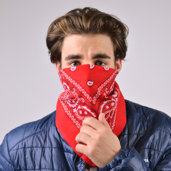 Cotton Bandana Red & White Duo Pack 2BNA-1WHT/1RD