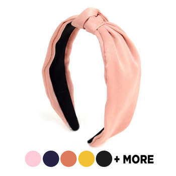 "Solid Color ""C"" Shaped Head Band -PHB1000"
