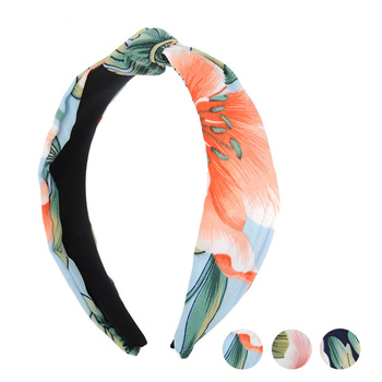 "Floral ""C"" Shaped Head Band - PHB1006"
