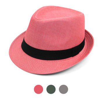 Spring/Summer Herringbone Fashion Trilby Fedora - FSS17014