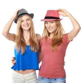 Spring/Summer Herringbone Fashion Trilby Fedora - FSS17014