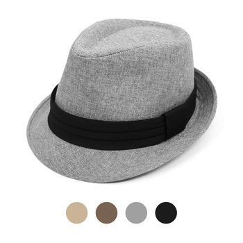 Spring/Summer Fashion Fedora with Black Band FSS17116