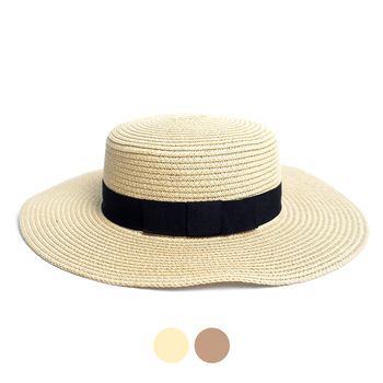 Spring/Summer Flat Top Wide Brim Women's Hat - LFH190100