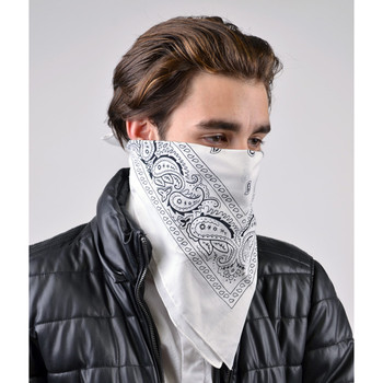 Cotton Bandana Black & White Duo Pack 2BNA-1BLK/1WHT