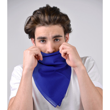 12pc Solid Bandanas - SBN1301