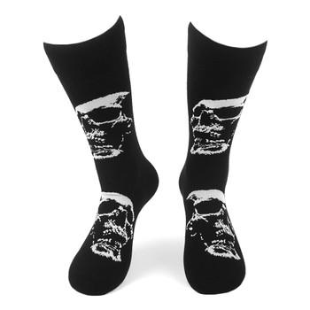 Men's Skull Novelty Socks - NVS19596-BK