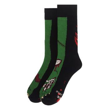 Men's Zombie Feet Novelty Socks - NVS19598-BK