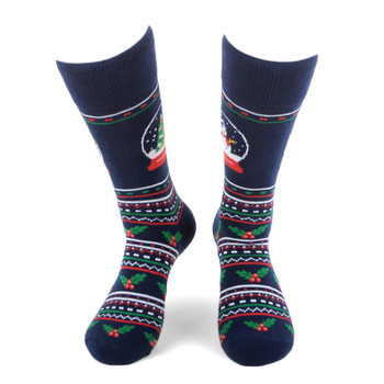 Men's Snow globe Novelty Socks - NVS19561-NV