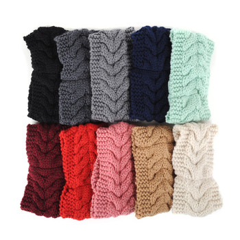 Assorted Colors Women's Knit Winter Headband Ear Warmer - 24PK-H1805040