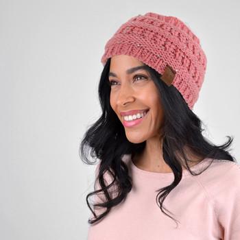 Assorted Colors Women's Knit Winter Headband Ear Warmer - 24PK-WHB5008