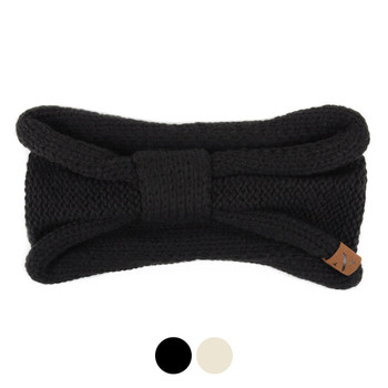 Women's Knotted Knit Winter Headband Ear Warmer - WHB5012