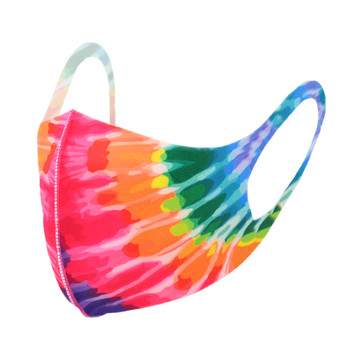 Tie Dye Print Fashion Face Mask - PPE33