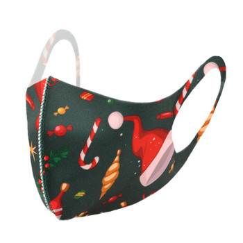 Christmas Print Fashion Face Mask - PPE39